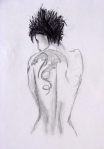 Croquis Dragon tatoo