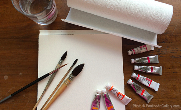 5 indispensables aquarelliste