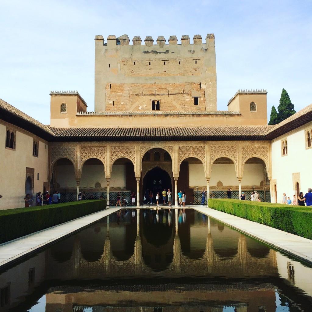 Palais Nasrides - Alhambra - Granada