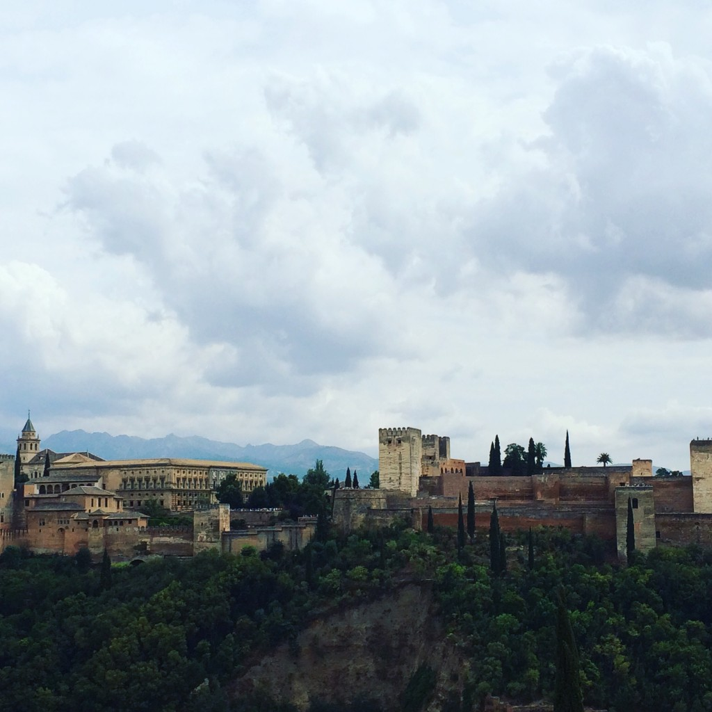 Alhambra - vue depuis l'Albaicin