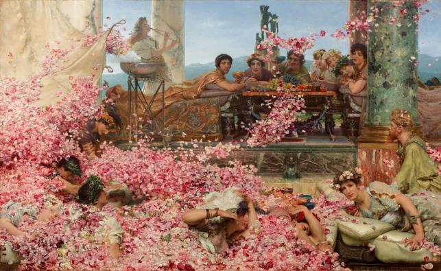 Les Roses d'Héliogabale – Sir Lawrence Alma-Tadema