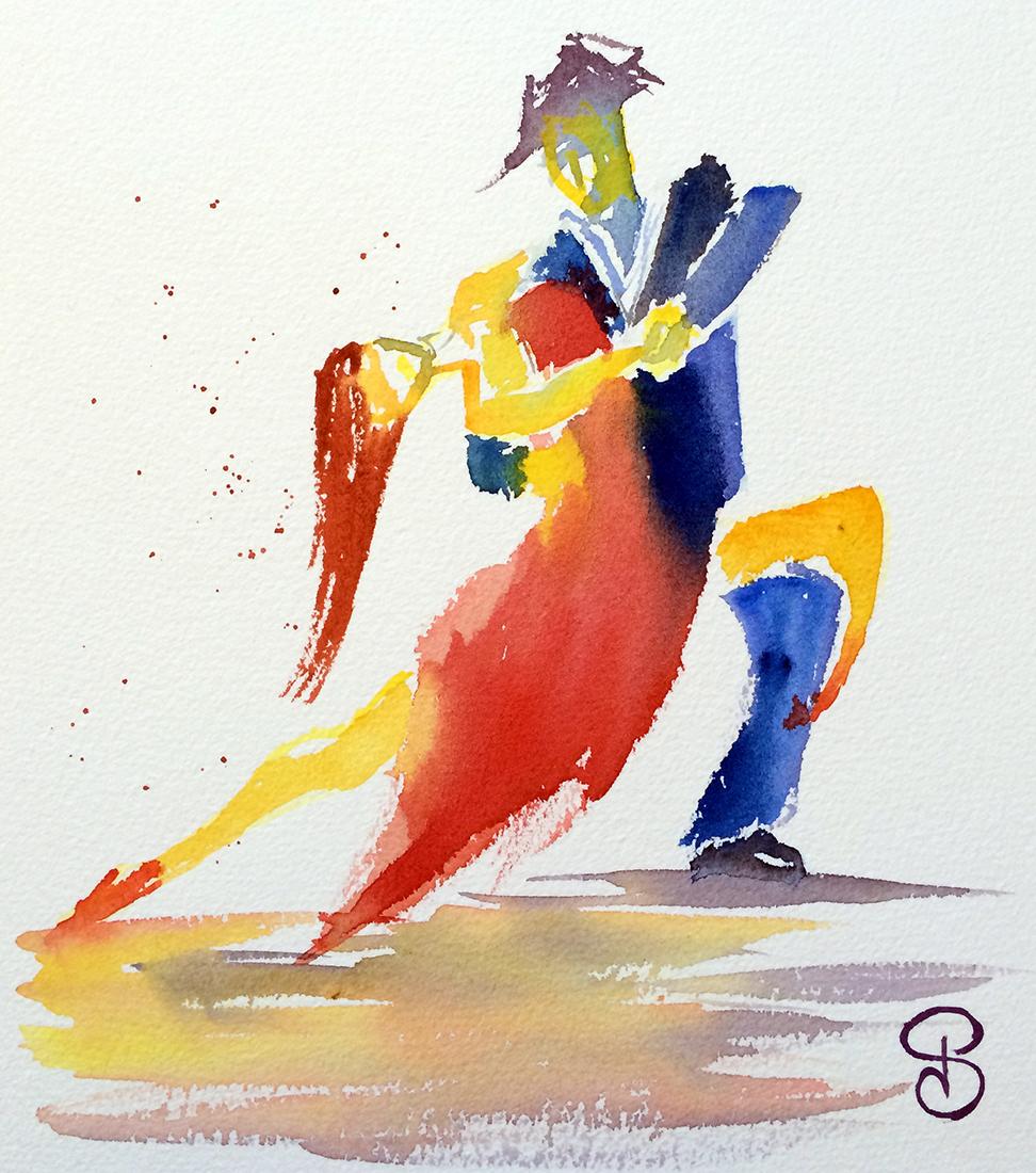Exposition de la série Tango