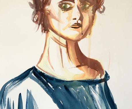 Tuesday self portrait